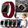 Milanese Stainless Steel iWatch Band Strap+Cover Case Apple Watch Series 4/3/2/1