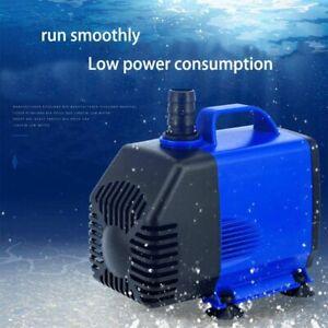 Pump Aquarium Submersible Water Fountain Gph Fish Tank Hydroponic Pond Powerhead