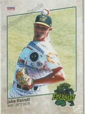 2019 Eugene Emeralds Jake Reindl RC Rookie Chicago Cubs
