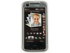 Rubberized Case Transparent Clear For HTC Touch Pro 2