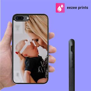 CUSTOM Personalised Phone Case Any Image Photo or Logo for iPhone Samsung Models