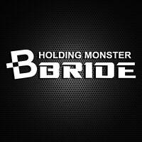 Bride Holding Monster - Funny Car Window Windscreen Bumper Decal Vinyl Sticker