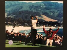 Tiger Woods Autographed 8x10 Photo, GFA Certified