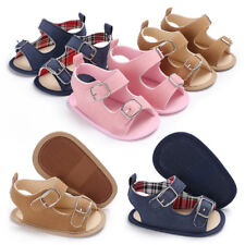 New Arrived Baby Boy Girl Soft Sole Crib Shoes Infant Summer Sandals 3 6 9 12 18