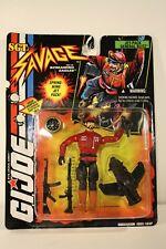 G.I. Joe Sgt. Savage General Blitz w/ Jet Pack action figure - Hasbro 1995 New