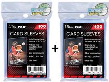 Ultra PRO Pokémon MTG 200 Protèges Cartes/Pochettes/Sleeves  souples Transparent