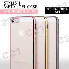 iPhone 5 5S Case Ultra Thin Soft TPU Gel Silicone Clear Crystal Cover for Apple