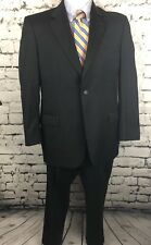 Jos A Bank Signature Charcoal Gray Wool Suit Jacket 42 R Pants 35 X 28.5 (bx3a)