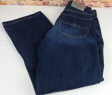 Silver Dark Wash Bootcut Women's Jeans Tag 28x30 Actual Size 26x29 E266