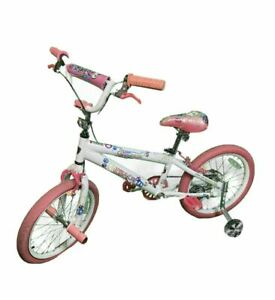 "Kent 18"" Peace Freestyle BMX Bike Bicycle Pink/White"