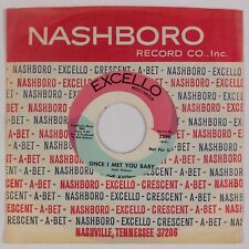 THE AVONS: Since I Met You Baby US Excello Northern Soul Classic Orig 45 HEAR