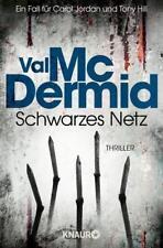 Schwarzes Netz / Tony Hill & Carol Jordan Bd.9 von Val McDermid (2017 - TB)