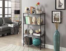 Wire Shelving 4 Tier Metal Shelf  4 Shelf Shelving Unit Storage Rack Organizer