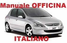 PEUGEOT 307 (2001/2009) Manuale Officina Riparazione ITALIANO