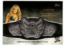 2014 TOPPS WWE LAYLA DIVAS CHAMPIONSHIP COMMEMORATIVE BELT