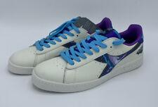 Diadora Game x Rick & Morty Intergalactic White Purple Shoes Men's Size 10