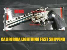 "DENIX SPAIN METAL 6"" MAGNUM 357 44 REVOLVER 1:1 REPLICA MOVIE PROP TRAINING AID"