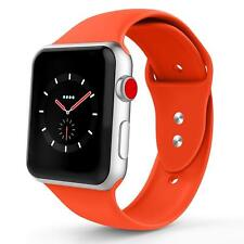 For Apple Watch Band 42mm 38mm Silicone Band Strap M L Various Colors