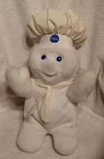 "13"" Pillsbury Dough Boy Plush Stuffed Toy Giggling Sound Noise 1997"