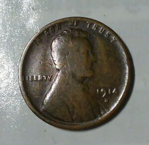 1914 D Lincoln Wheat Cent / Penny  / Estate Collection