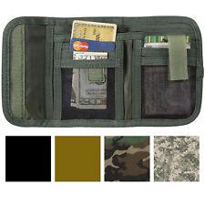 Tactical Tri-Fold Wallet ID Heavy Duty Commando Camouflage