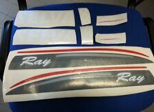 Adesivi motore marino fuoribordo Selva Ray 8hp  gommone barca stickers