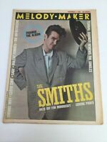 Melody Maker - The Smiths - Music Paper - November 3rd 1984 - Plus Gig Guide etc