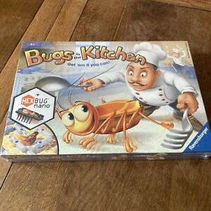 Ravensburger Bugs In The Kitchen Catch the Hexbug Game Brand New Factory Sealed
