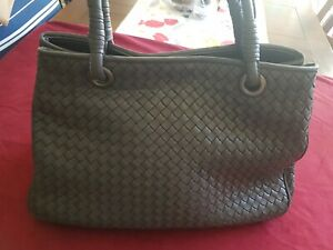 Bottega Veneta Leather Handbag - Made in Italy