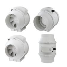 Channel Pipe Fan Rohreinschub Exhaust Air Fan Ventilator Aril 3 Levels Selection