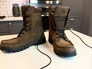 Rocky Men's 8729  Outback GoreTex Leather Lace up Moc Toe Work Boot 8.5M