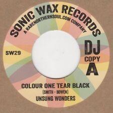 Unsung Maravillas color una lágrima Negro Sonic Cera Demo SW29 Alma Northern Motown