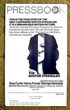 "Serial killer Albert DeSalvo TRUE STORY --""THE BOSTON STRANGLER"" /1968 pressbook"
