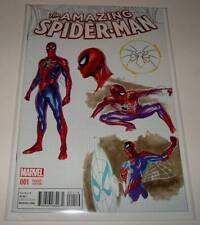 The AMAZING SPIDER-MAN # 1 Marvel Comic  Dec 2015  NM   DESIGN VARIANT COVER