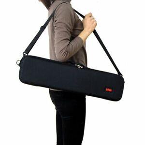 Fishing Rod Case Hard Shockproof Bag Pole Carry Storage Handbag EVA Tackle Box