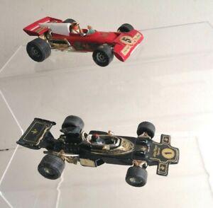 Corgi Toys Wizzwheels JPSLotus 72E F.1 & Corgi Ferrari 312 B2