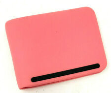 Silicone Rubber Soft Feel Pink Wallet Bi fold Water Resistant Money & 6 Cards
