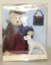 The Fancy Ladies Collection Barbara Walking My Dog Series Bear and Dog 81019