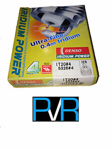 4x DENSO Iridium Power High Performance Spark Plug IT20
