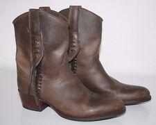 Sendra Cowboystiefel Boots Gr.38 (UK.5) Braun Echtleder sehr guter Zustand!