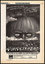 PUMPKINHEAD__Original 1986 Cannes Trade print AD / poster__horror promo__1988