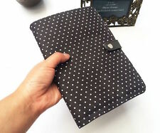 Thirty one Double Up Clutch purse bag 31 gift CITY CHARCOAL SWISS DOT wallet e