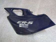 E1. Kawasaki Er 5Er 500a Cubierta Lateral Izquierda Revestimiento Azul