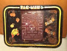 Rare Vintage Pac-Man / PacMan TV Tray - Fair/Good Condition