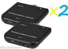 2 X external backup battery charger for Samsung Galaxy S 3 III i9300 i747 SCH153