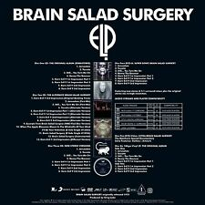 Emerson Lake and Palmer Brain Salad Surgery  super deluxe 4cd,dvd + autographed!
