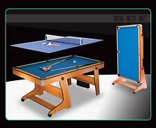 BCE RILEY FP-6TT verticalement pliable 6' Table de billard queues BALLES TENNIS