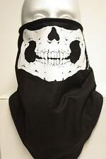 Skull jaw fleece motorcycle mask fierce face protection