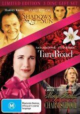 Shadows In The Sun  / Tara Road  / Marilyn Hotchkiss Ballroom Dancing & Charm School (DVD, 2009, 3-Disc Set)