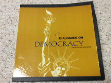 1964 Boxed Set of Dialogues on Democracy, Western Electric Label
